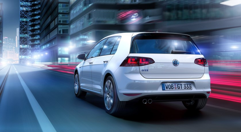 2019 VW Golf GTE concept