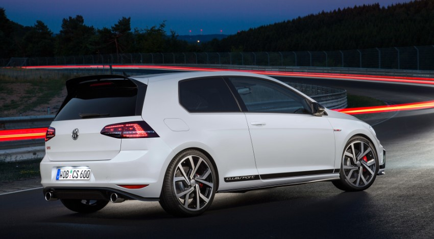 2019 VW Golf GTI Clubsport changes