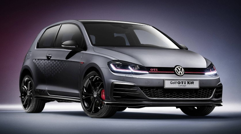 2019 VW Golf GTI TCR redesign
