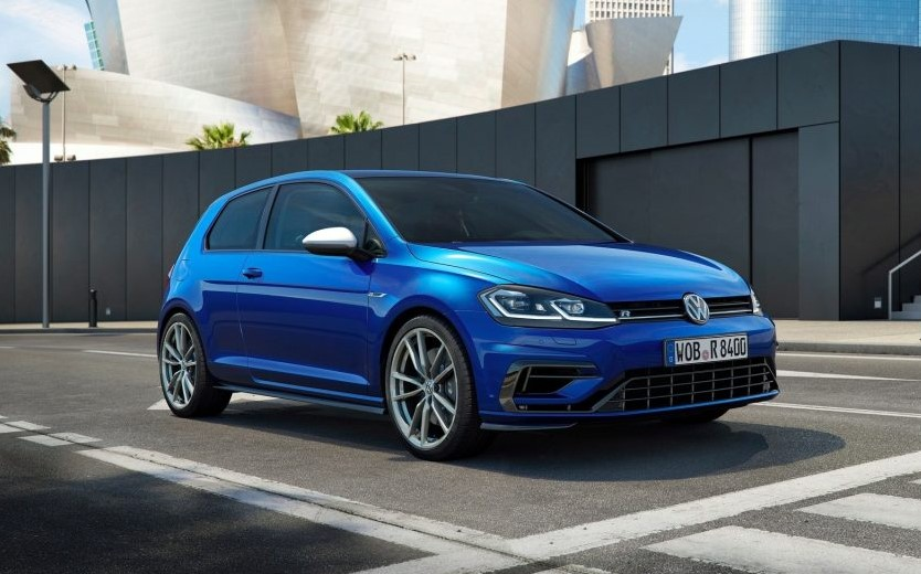 2019 VW Golf R USA changes