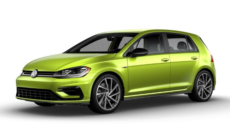 2019 VW Golf R changes