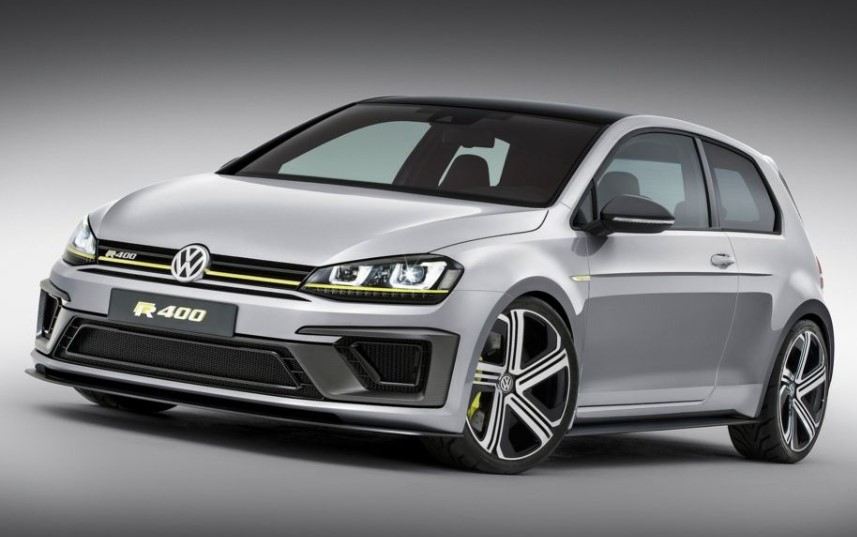 2019 VW Golf R400 changes
