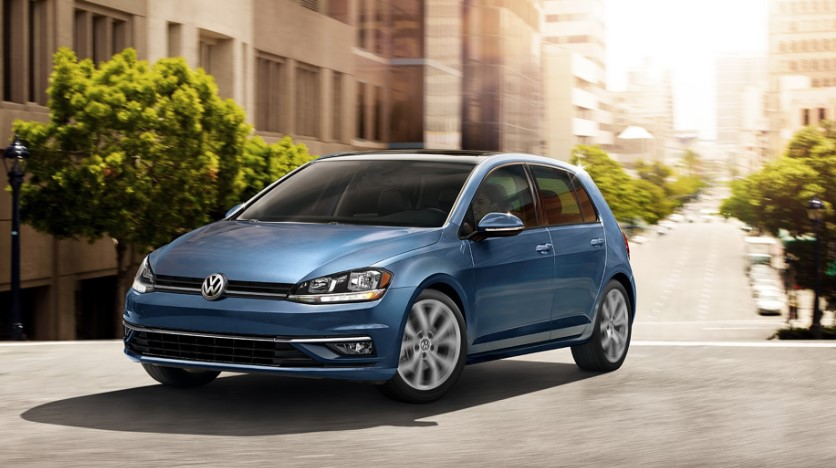 2019 VW Golf USA changes