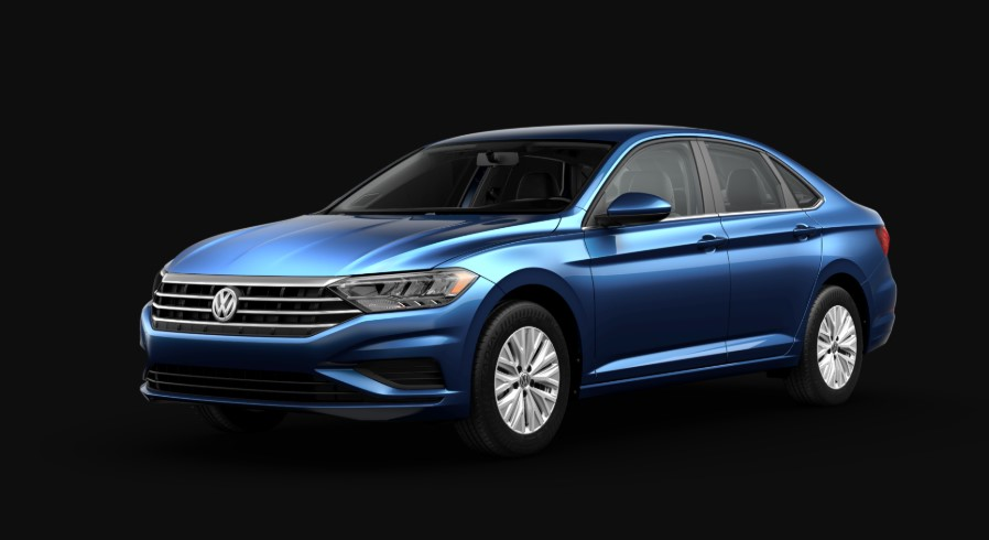 2019 VW Jetta Blue changes