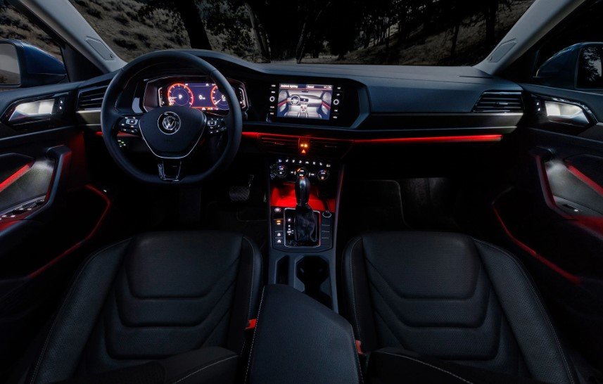 2019 VW Jetta Ambient Lighting