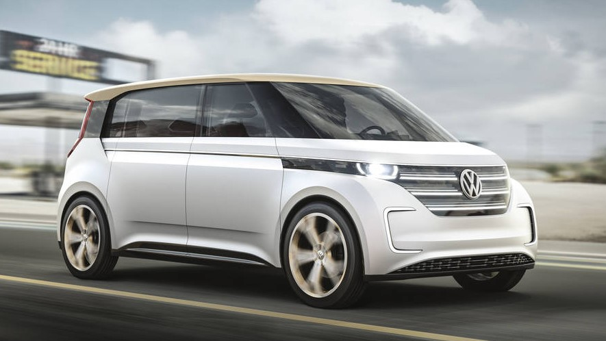 2020 Volkswagen Budd-E changes