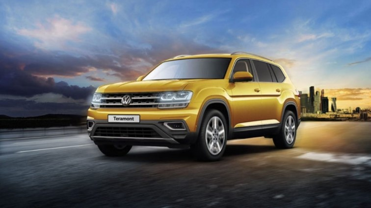 2020 Volkswagen Teramont changes