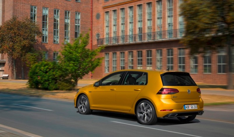 VW Golf Facelift 2019 changes