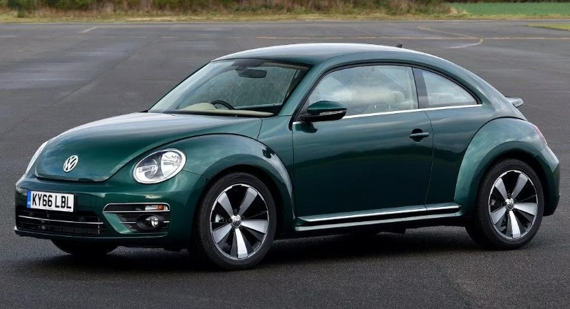 2020 VW Beetle Turbo changes