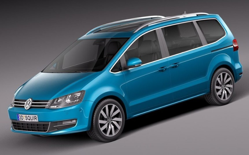 2020 VW Sharan Facelift changes