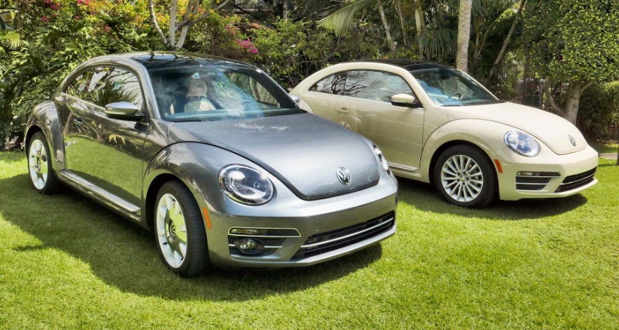VW Beetle 2020 Mexico changes