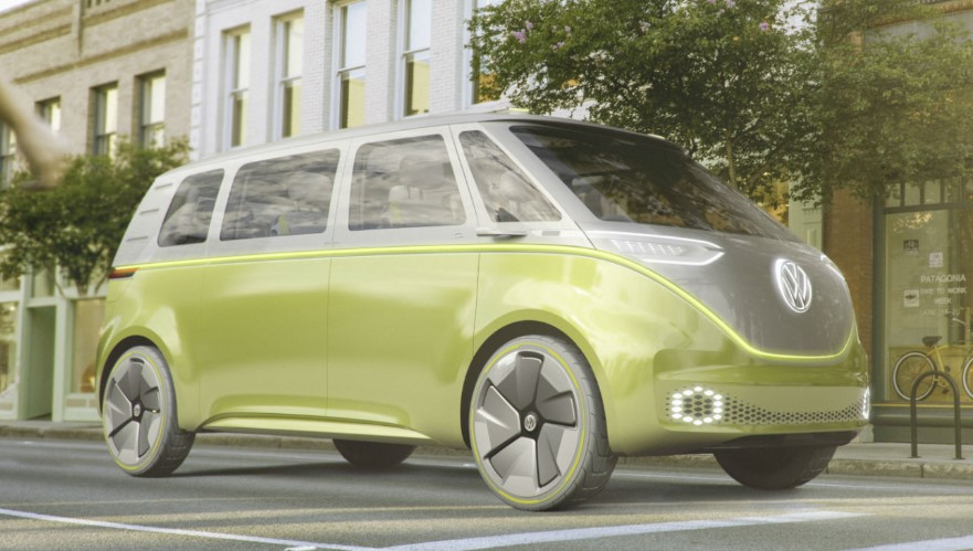 VW Microbus 2020 changes