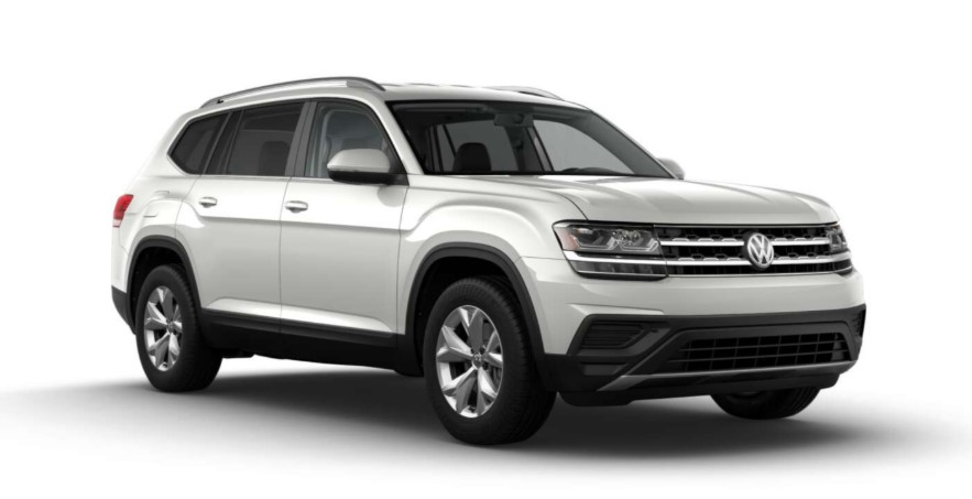 2020 VW Atlas 2 Row changes