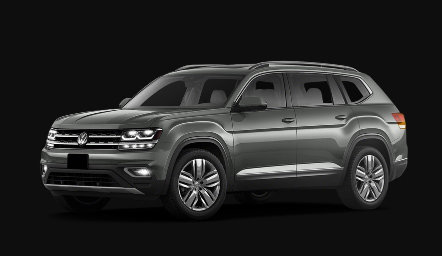 2020 VW Atlas Coupe changes