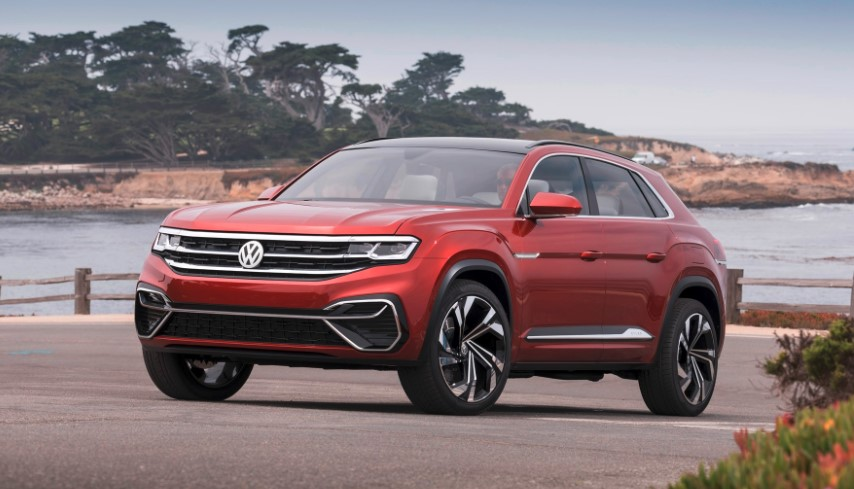 2020 VW Atlas Crossover concept