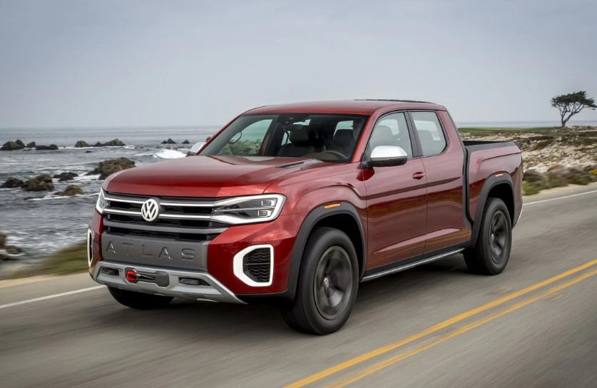 2020 VW Atlas Pickup changes