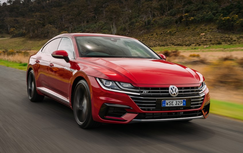 2020 Volkswagen Arteon 4Motion changes