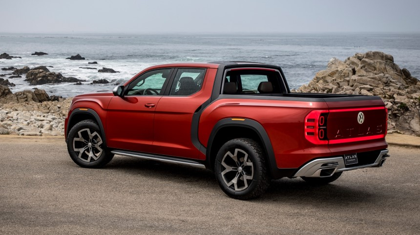 2020 Volkswagen Atlas Tanoak changes