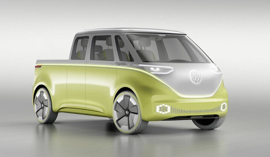 2020 ID Buzz Single Cab concept 2020 VW ID Buzz Double Cab Rumors, Concept, Review, Release Date