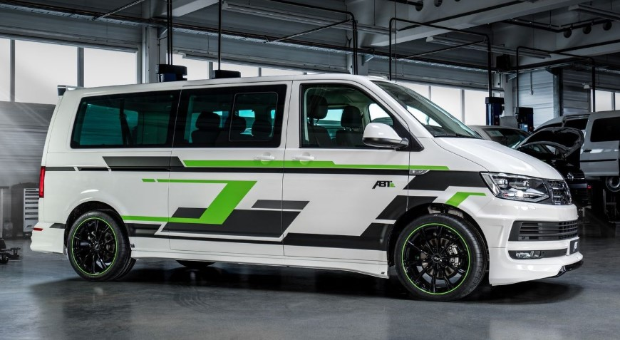 2020 VW ABT e-Transporter changes