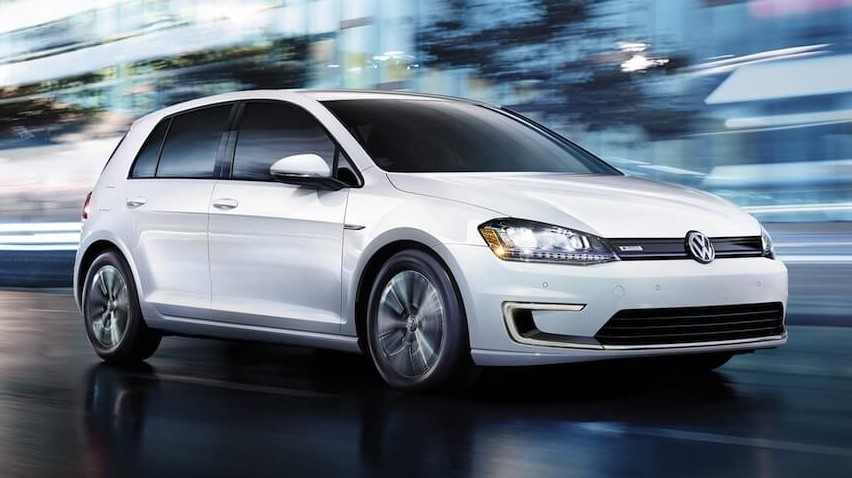 2020 VW E-Golf Range design