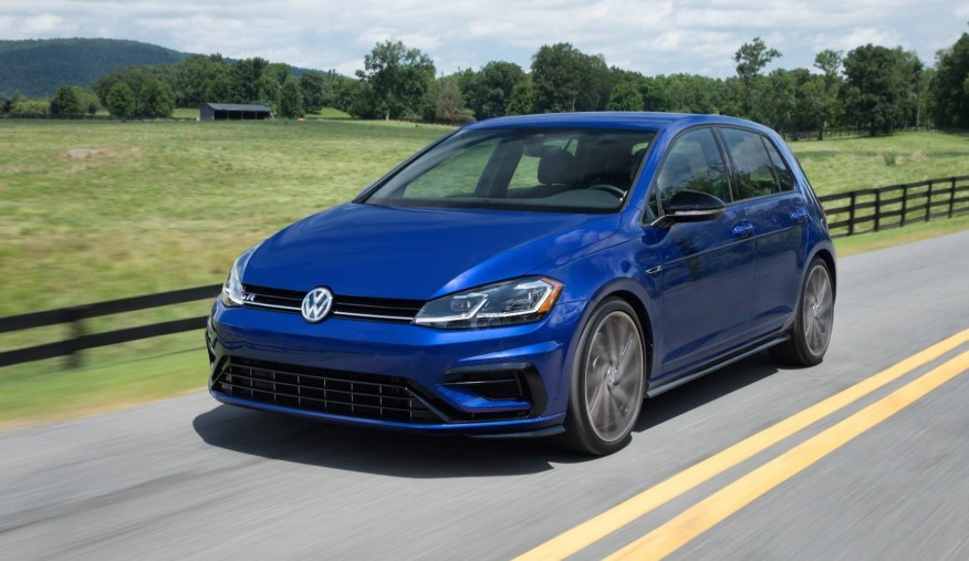 2020 VW Golf R 2.0L changes