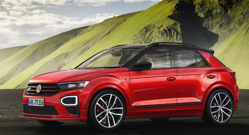 2020 VW T-Roc GTI design