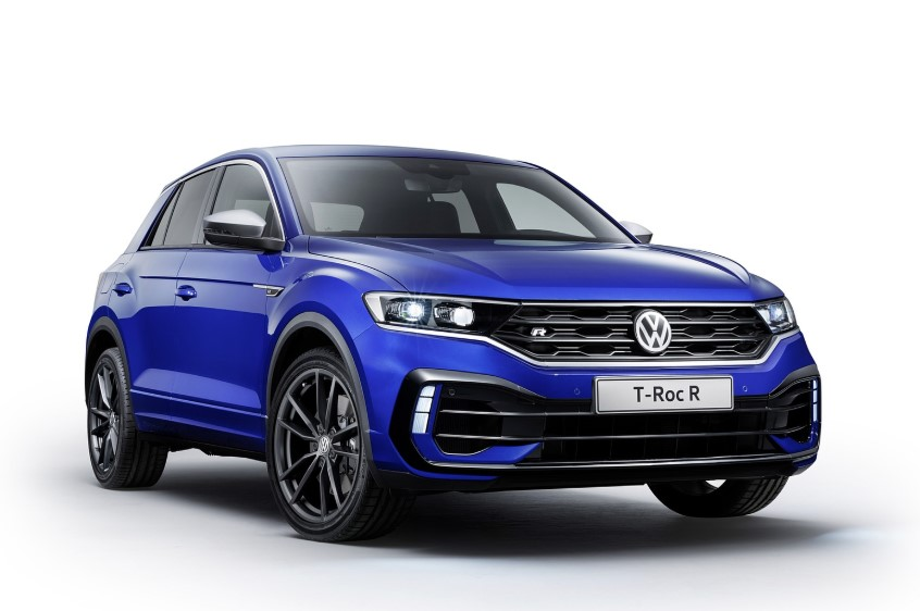 2020 VW T-Roc R SUV design