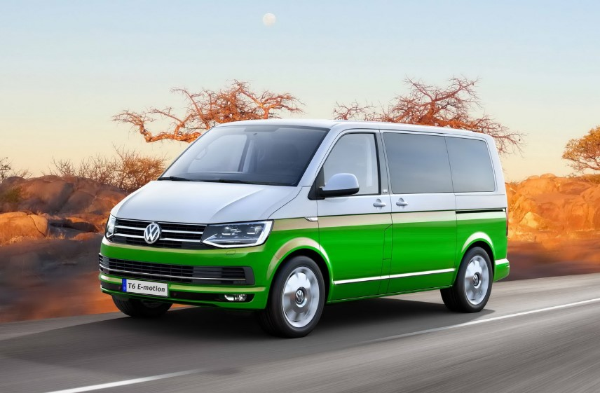 2020 VW Transporter T6.1 Hybrid changes
