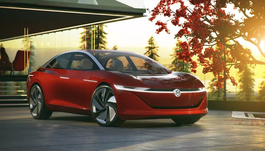 2020 Volkswagen ID Electric Sedan design