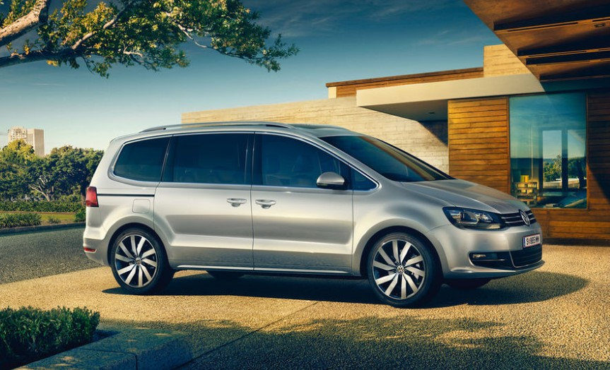 VW Sharan 2020 AB Wann Facelift concept