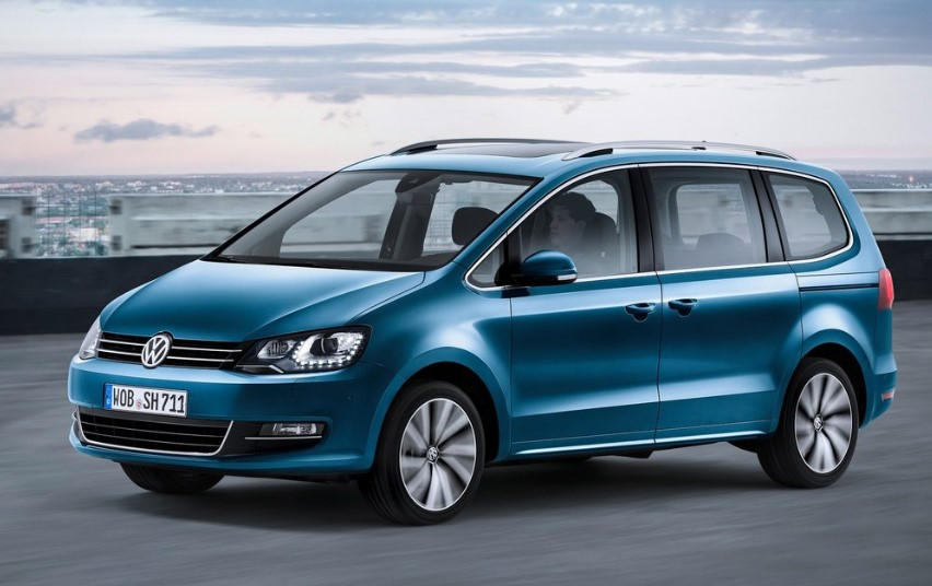 VW Sharan 2020 New Model UK Facelift
