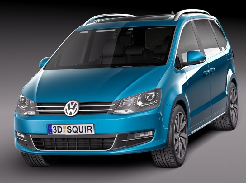 VW Sharan New Model 2020 colors