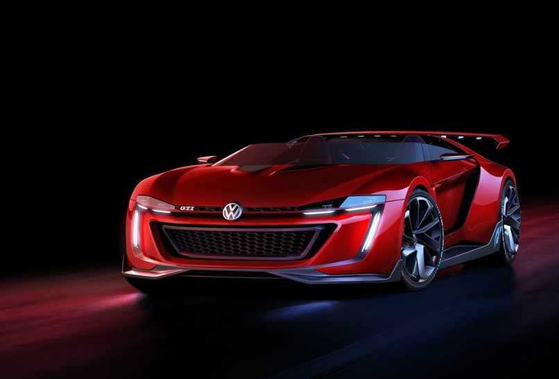 2020 VW GTI Roadster concept