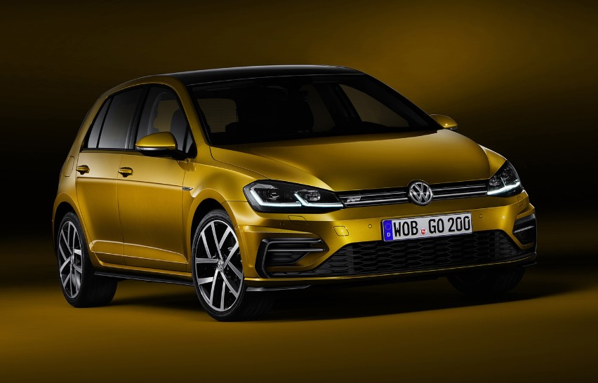 2020 VW Golf 7 R-Line changes