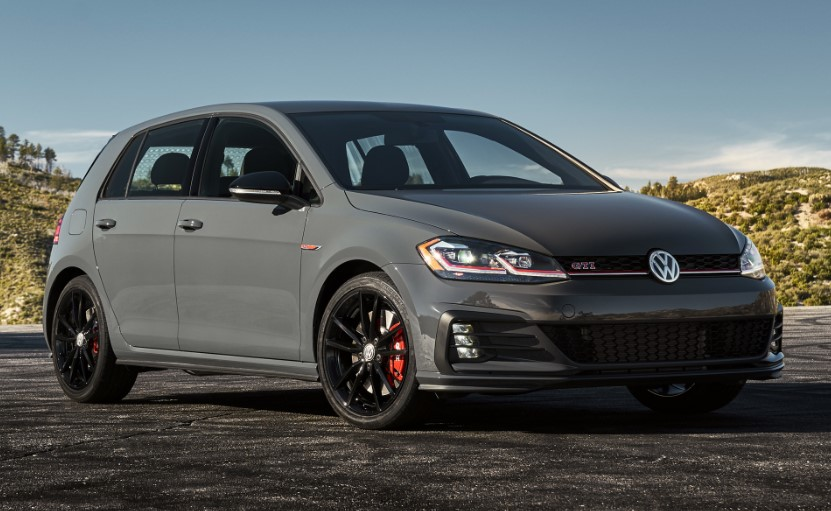 2020 VW Golf GTI Rabbit changes