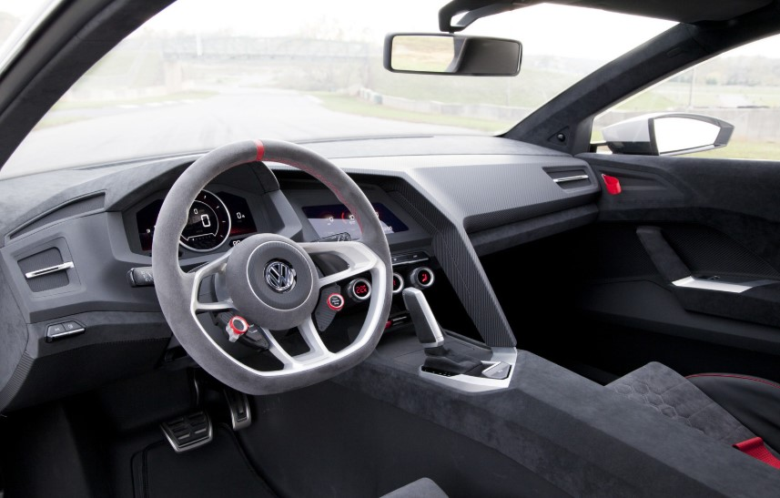 2020 VW Golf Vision GTI interior 2020 VW Golf Vision GTI Release Date, Interior, Concept