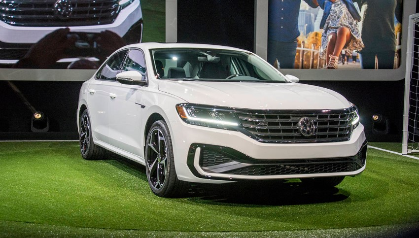 2020 VW Passat USA changes