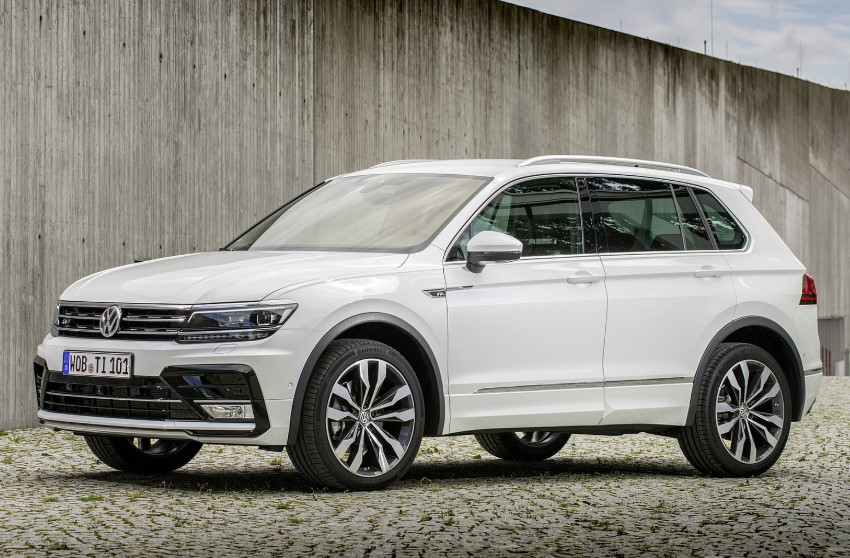 2020 VW Tiguan R-Line TSI changes