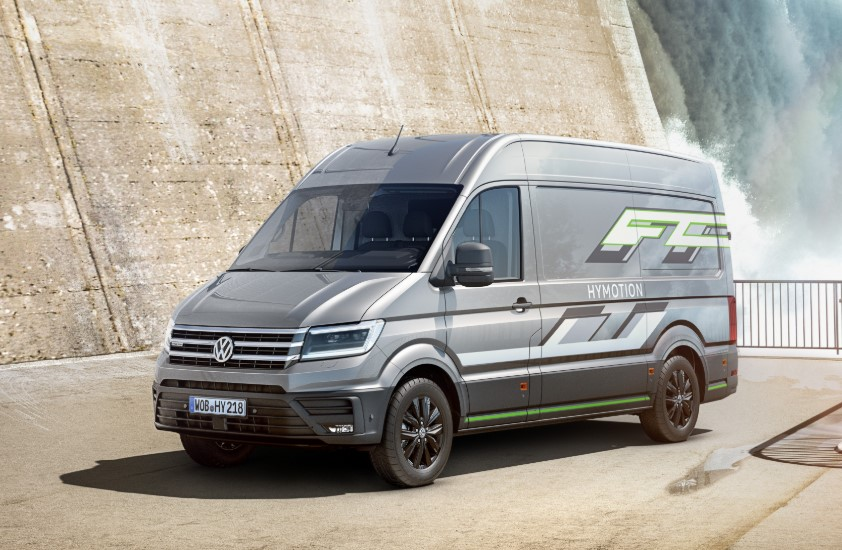 2020 Volkswagen Crafter HyMotion concept