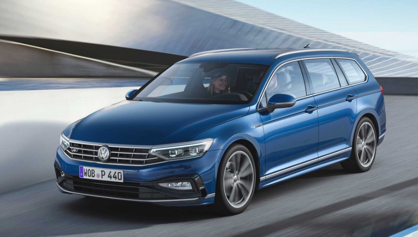 New VW Passat 2020 UK concept