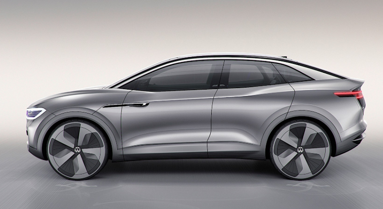 2019 VW I.D. Crozz Electric SUV design