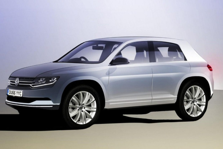 2019 VW Polo SUV design