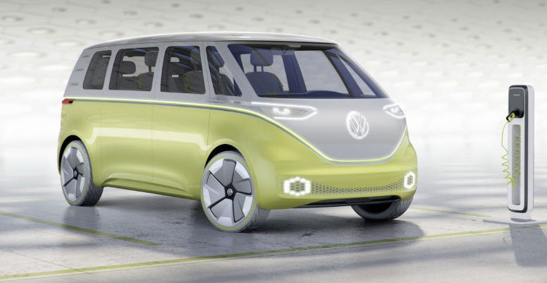 2019 VW Electric Bus redesign