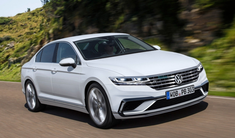 2019 VW Passat Wagon design