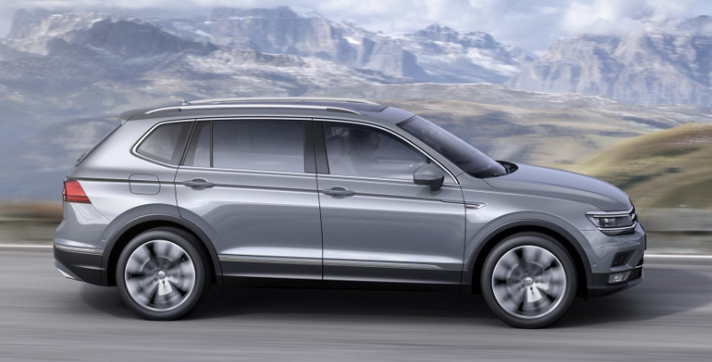 2019 VW Tiguan SUV redesign