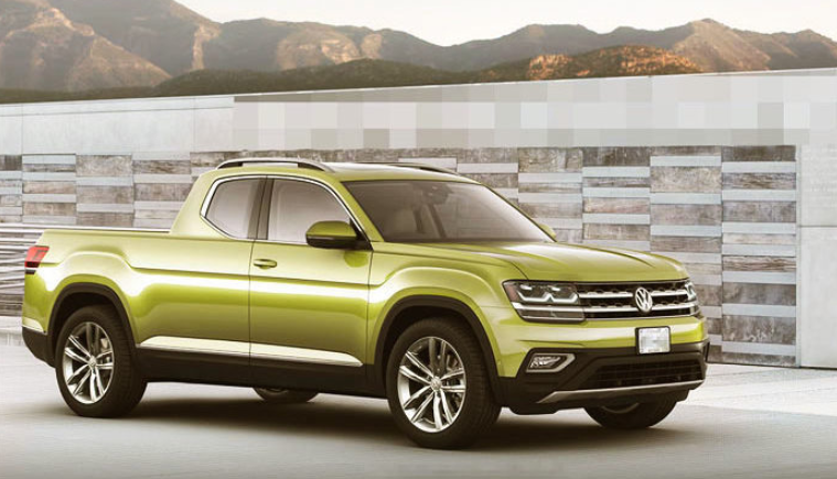 2019 Volkswagen Atlas Pickup design