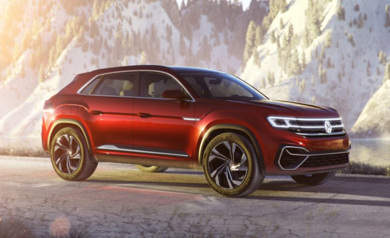 2019 VW Atlas Cross Sport 4MOTION design