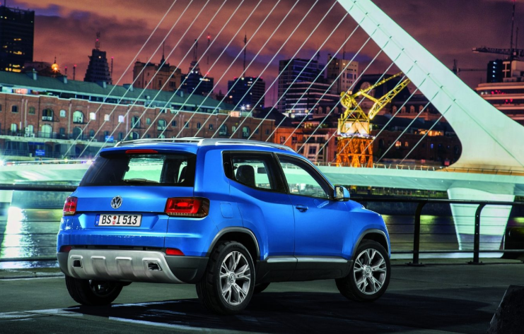2019 VW T-Track SUV release date